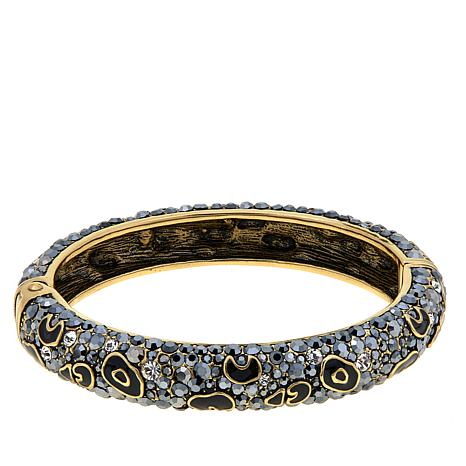 "Heidi Daus ""Animal Magnetism""  Bangle Bracelet"