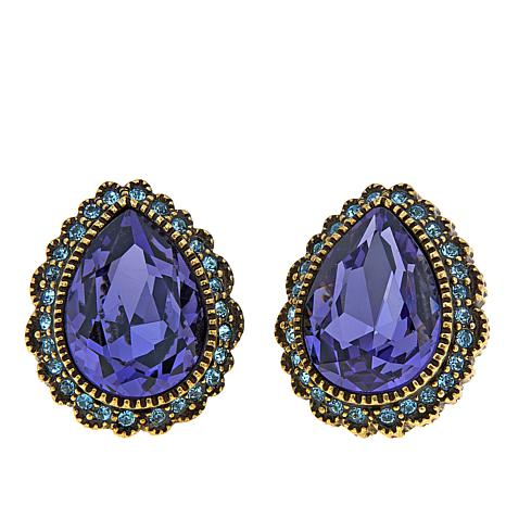 "Heidi Daus ""Demoiselle"" Crystal Earrings"