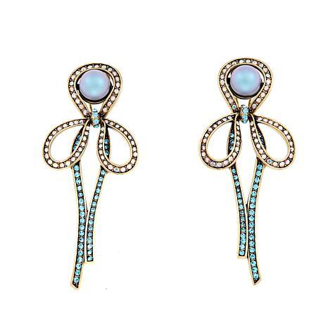 """Heidi Daus """"Elegant Invitation"""" Crystal Earrings"""