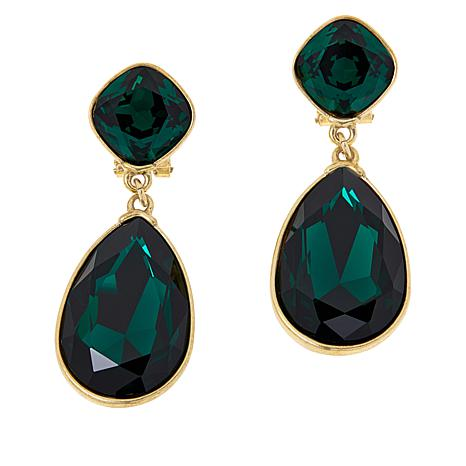 "Heidi Daus ""Emmy Worthy"" Dangle Earrings"