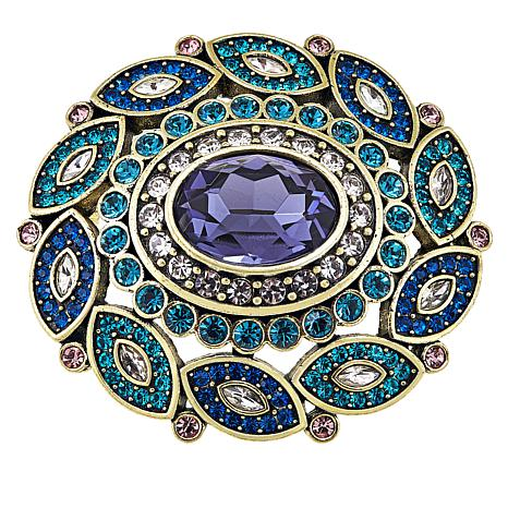 "Heidi Daus ""Enchante"" Crystal Pin"