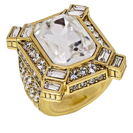 "Heidi Daus ""Estate Splendor"" Crystal Ring"