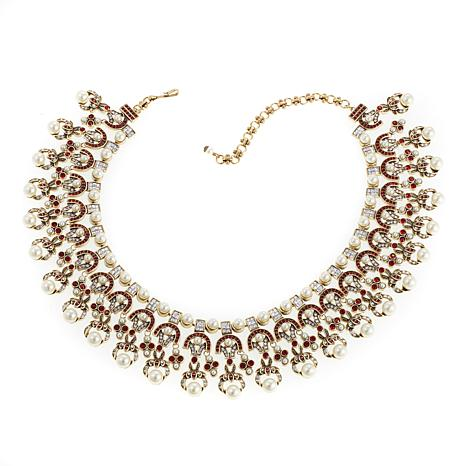 """Heidi Daus """"Masterful Combination of Color""""  Necklace"""