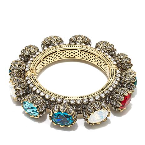 "Heidi Daus ""Object of Affection"" Twist Bangle Bracelet"
