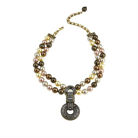 """Heidi Daus """"Sparkle is a Many Splendid Thing"""" Crystal Drop Necklace"""