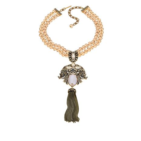 "Heidi Daus ""Stop the Show Stunner"" Drop Necklace"