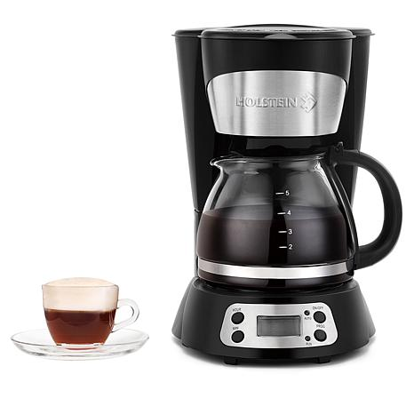 Holstein 5-Cup Programmable Coffee Maker