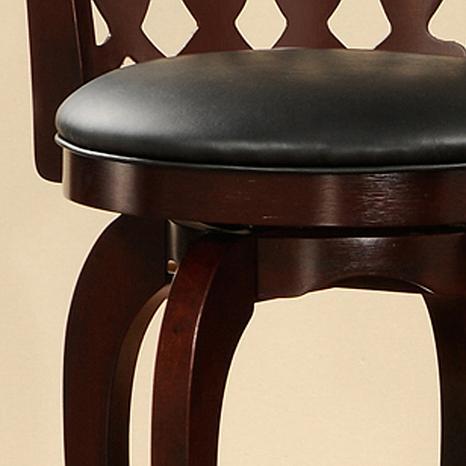 Fine 29 Cherry Swivel And Scroll Back Counter Height Chair Creativecarmelina Interior Chair Design Creativecarmelinacom