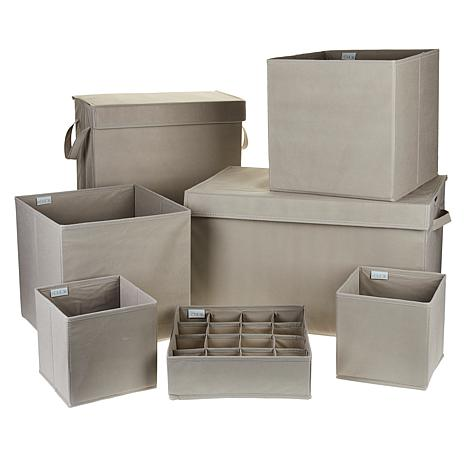 Home36 7-piece Folding Storage Set