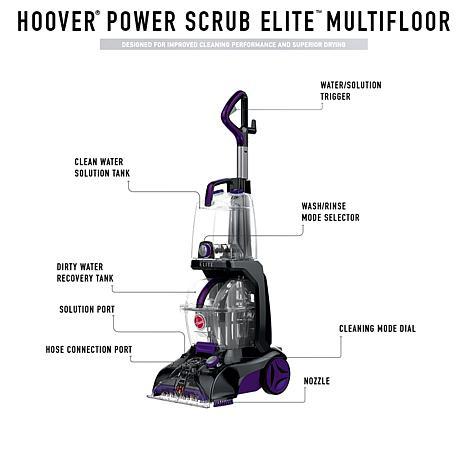 Hoover® Power Scrub Elite Multifloor Carpet Cleaner with Accessories