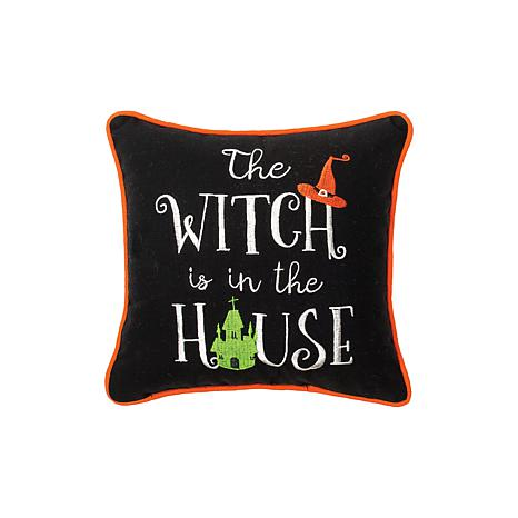House Witch Pillow