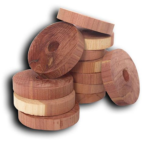 Household Essentials 20ct Solid Cedar Rings