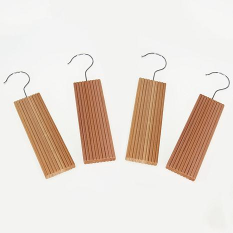 Household Essentials 4ct Lavender Milled Cedar Hang-Ups
