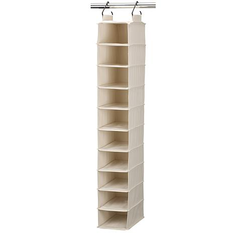 Household Essentials Cedarline 10-Shelf Shoe Organizer