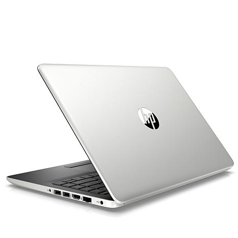 "HP 14""  AMD A4 Dual-Core 64GB eMMC Laptop with Office & Tech Support"