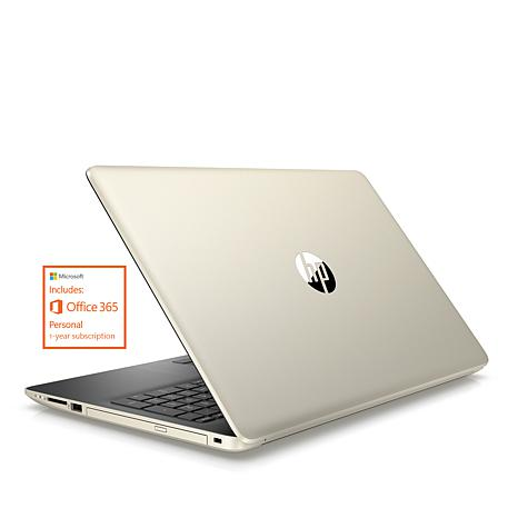 """HP 17"""" AMD A9 8GB RAM, 1TB HDD Laptop Bundle with MS Office 365"""