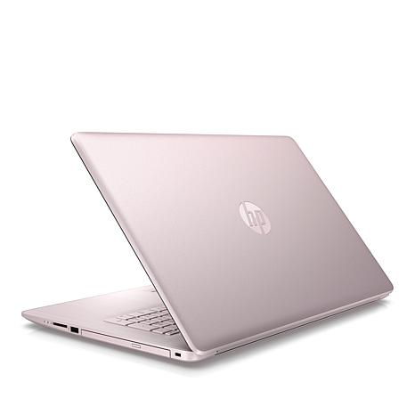 """HP 17.3"""" Touchscreen AMD Quad-Core 8GB RAM, 1TB HDD Laptop w/Support"""