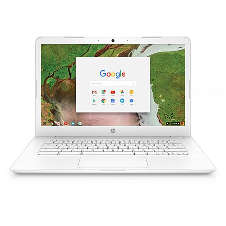 "HP Chromebook 14"" HD Intel 4GB RAM, 16GB eMMC Chrome OS Laptop"
