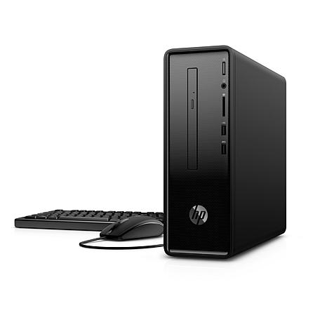 HP Slim AMD Processor, 4GB RAM, 1TB HDD, Windows 10 Desktop Computer