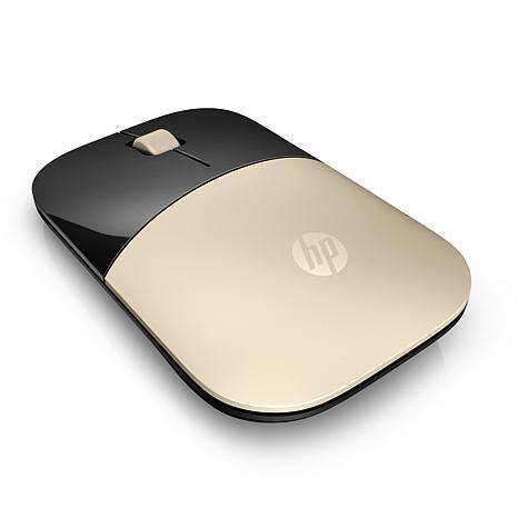 HP Z3700 Wireless Mouse in Modern Gold