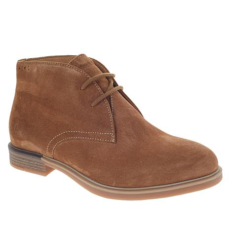 Hush Puppies Bailey Worryfree Suede Chukka Bootie 9090278 Hsn