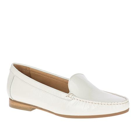 Hush Puppies Yorktese Patent Leather Slip-On Moccasin