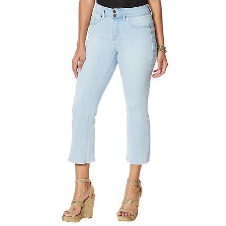 IMAN Global Chic Luxury Resort 360 Slim Crop Jean