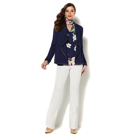 amazing faux deal leather rack trim ribbed blazer nordstrom shop drapes womens jacket jackets blanknyc f draped denim at