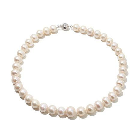 """Imperial Pearls 18"""" 10.5-12.5mm Cultured Pearl Necklace"""