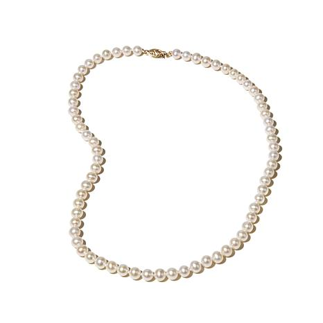 "Imperial Pearls 6-6.5mm Cultured Pearl 14K 18"" Necklace"