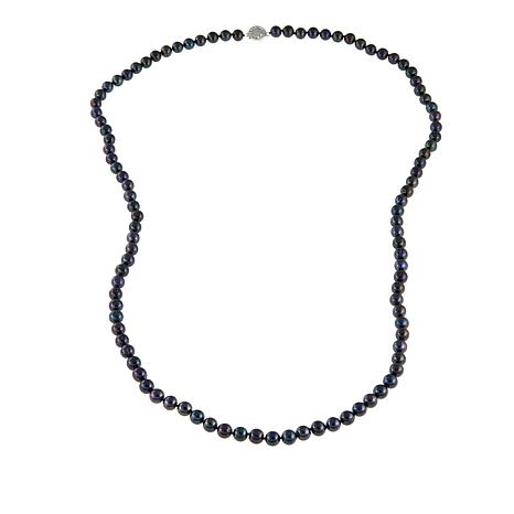 "Imperial Pearls 8-9mm Peacock Cultured Pearl 36"" Necklace"