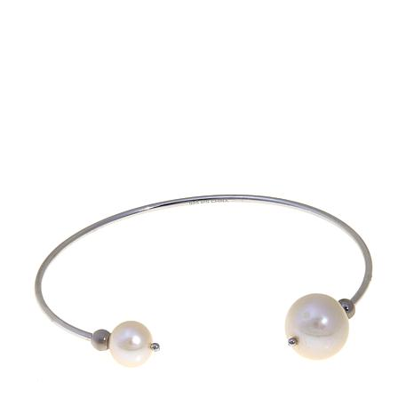 Imperial Pearls Cultured Pearl Wire Bracelet
