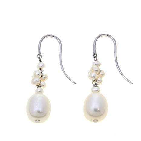 Imperial Pearls Seed Cultured Pearl Knot Earrings