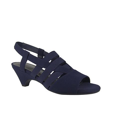 IMPO Ezri Stretch Elastic Sandal with Memory Foam
