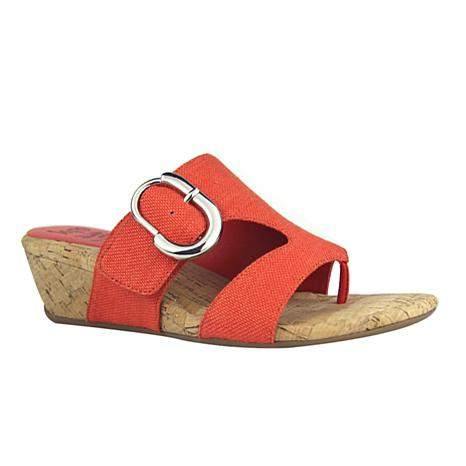 IMPO International Givana Wedge Sandal with Memory Foam