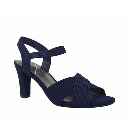 IMPO Vadame Stretch Dress Sandal with Memory Foam