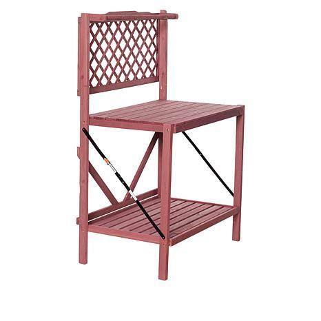 Wondrous Exclusive Improvements 36 Foldable Indoor Outdoor Potting Bench Uwap Interior Chair Design Uwaporg