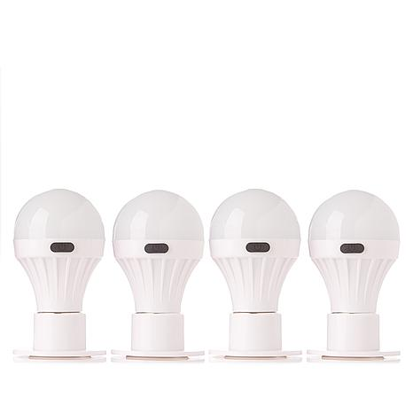 Improvements 4-pack Handy Bulb Portable Lamps