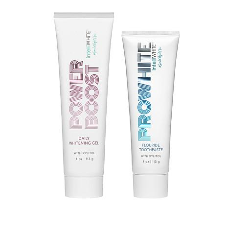 IntelliWHiTE Power Boost Whitening Gel and Toothpaste Set