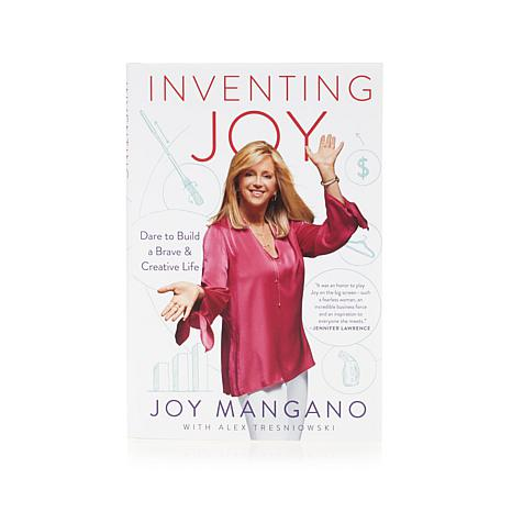 Inventing Joy HandSigned Hardcover Book by Joy Mangano 8422232 HSN