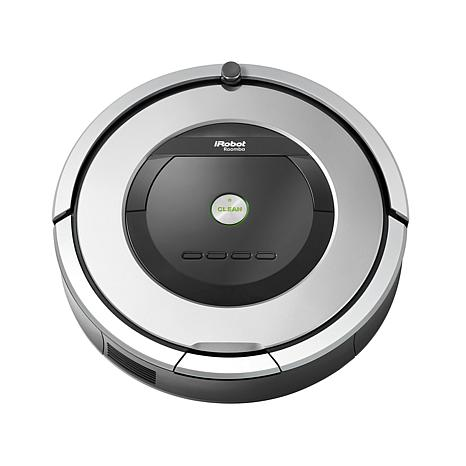 iRobot® Roomba® 860 Vacuuming Robot with iAdapt Cleaning Technology