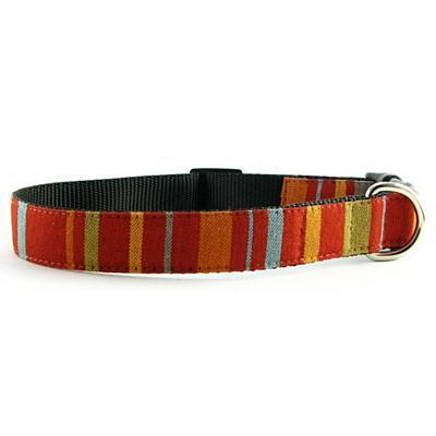 Isabella Cane Abbington Dog Collar - Red Small