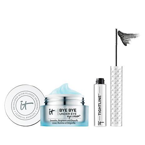 IT Cosmetics Bye Bye Under Eye Cream and Mascara Set