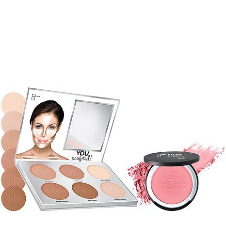 IT Cosmetics Contouring Palette and Blush Set
