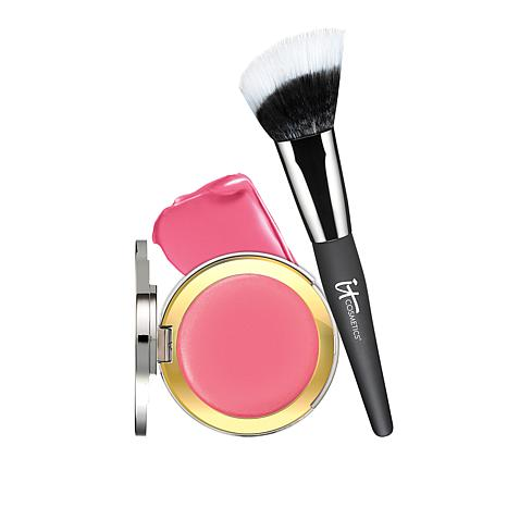 IT Cosmetics Je Ne Sais Quoi CC+ Anti-Aging Blush & Brush