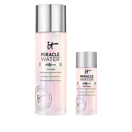 IT Cosmetics Travel Size and Full Size Miracle Water Micellar Cleanser