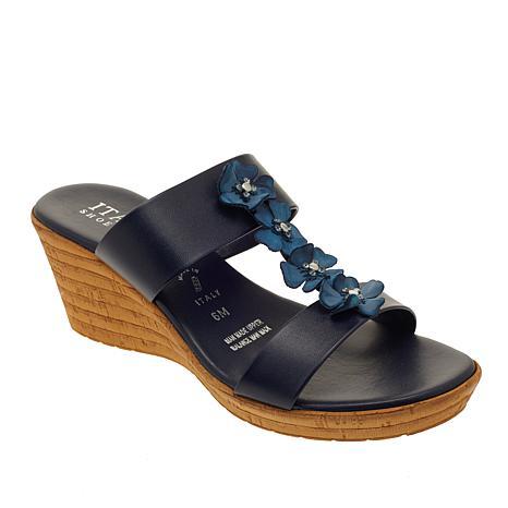 Italian Shoemakers Bailee H-Band Wedge Sandal
