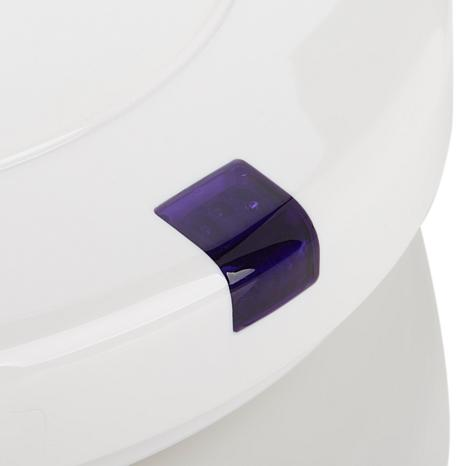 Itouchless elongated touchless toilet seat 8193849 hsn for Touchless toilet seat