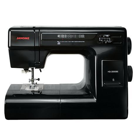Janome HD3000 Black Edition 18-Stitch Sewing Machine