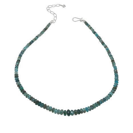 "Jay King Apatite 18"" Beaded Necklace"